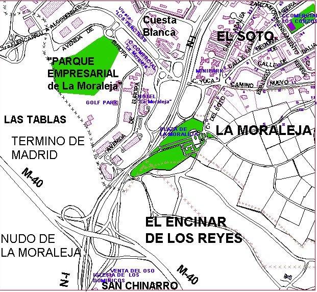 Zona de influencia de la moraleja parque - Centro comercial de la moraleja ...